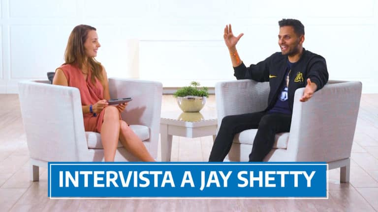 intervista a Jay Shetty