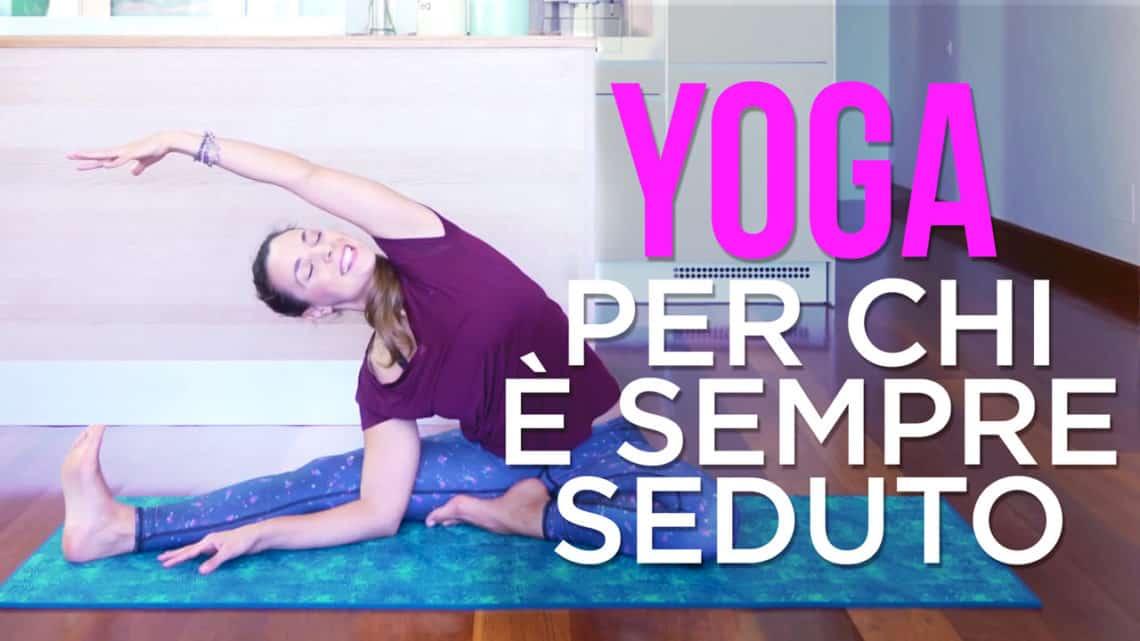 esercizi yoga